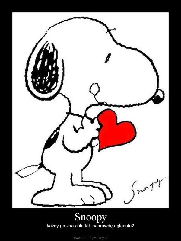Snoopy – każdy go zna a ilu tak naprawdę oglądało?