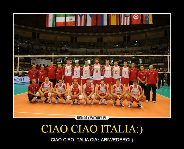 CIAO CIAO ITALIA:) – CIAO CIAO ITALIA CIAŁ ARIWEDERCI:)