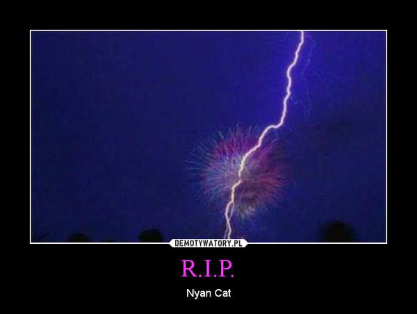 R.I.P. – Nyan Cat