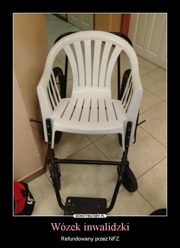Wózek inwalidzki – Refundowany przez NFZ