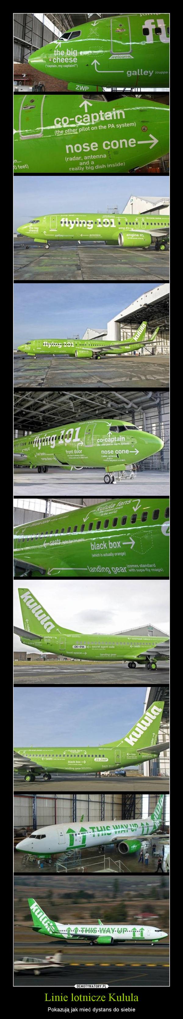 Linie lotnicze Kulula – Pokazują jak mieć dystans do siebie
