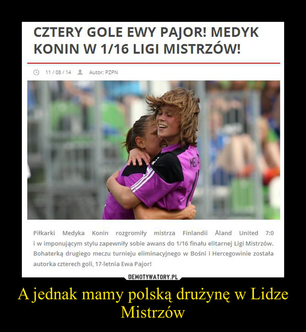 A jednak mamy polską drużynę w Lidze Mistrzów –