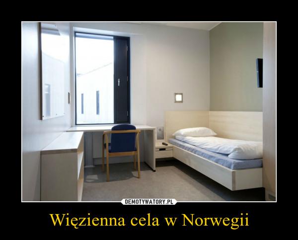 Więzienna cela w Norwegii –