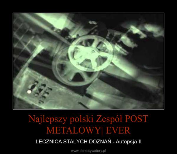 Najlepszy polski Zespół POST METALOWY| EVER – LECZNICA STAŁYCH DOZNAŃ - Autopsja II