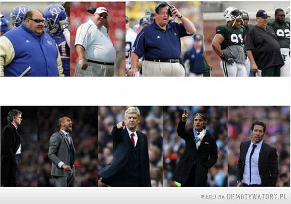 Amerykańscy trenerzy vs europejscy trenerzy –