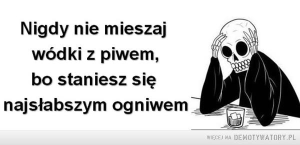Nie mieszaj... –