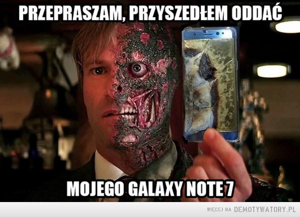 Samsung wycofał model Galaxy Note 7 z produkcji i sprzedaży –