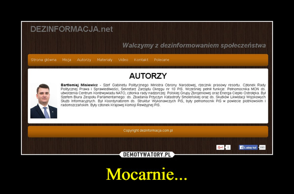 Mocarnie... –