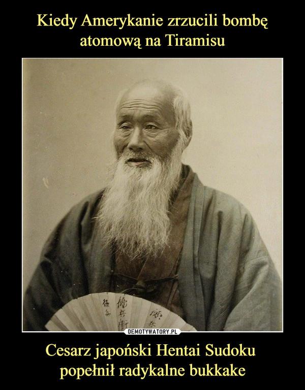 Cesarz japoński Hentai Sudoku popełnił radykalne bukkake –