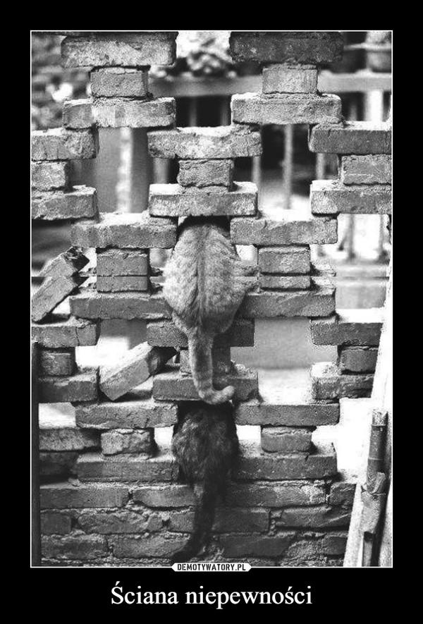 Ściana niepewności –