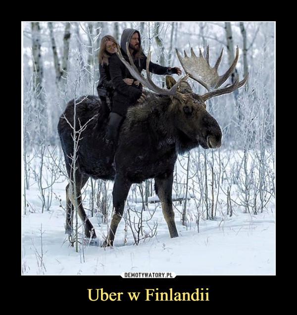 Uber w Finlandii –