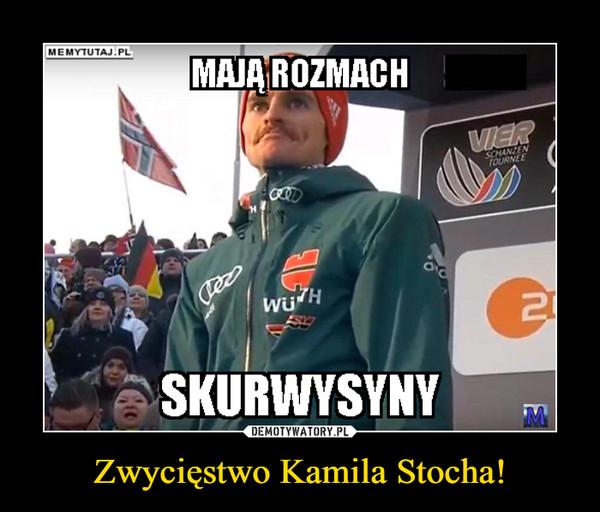 Zwycięstwo Kamila Stocha! –