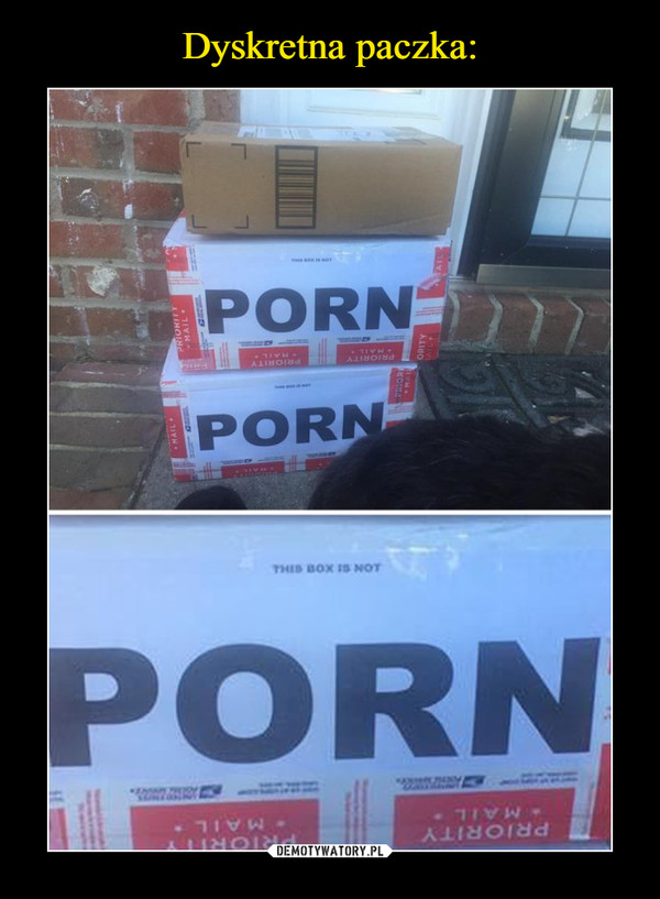 –  THIS BOX IS NOT PORN