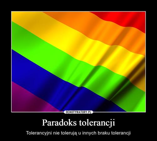 Paradoks tolerancji