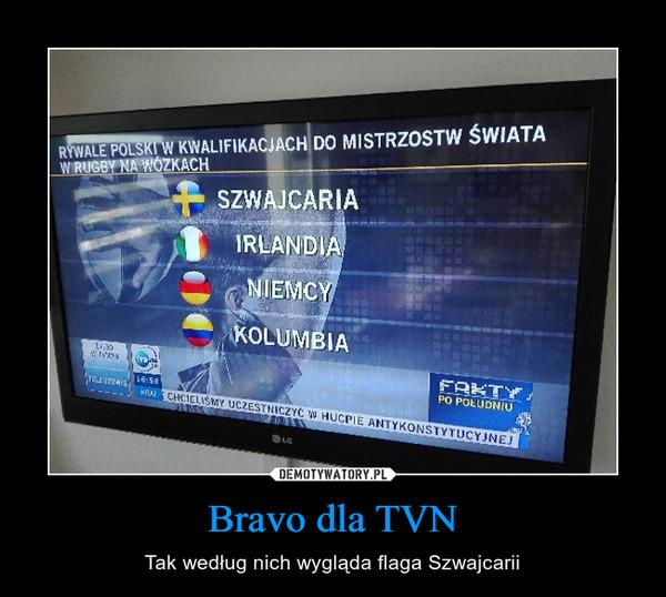 Bravo dla TVN – Tak według nich wygląda flaga Szwajcarii