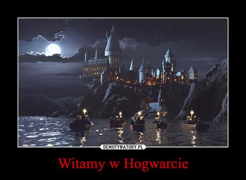 Witamy w Hogwarcie