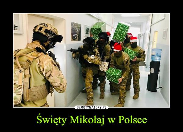 Święty Mikołaj w Polsce –