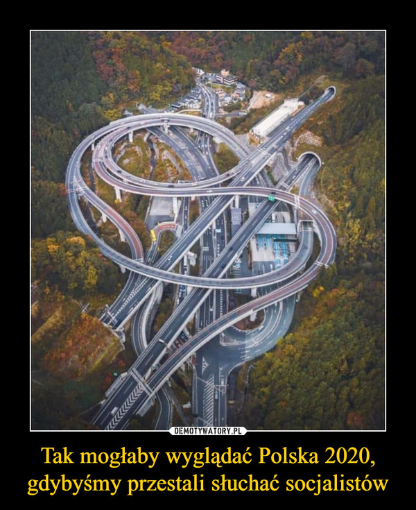 Tak mogłaby wyglądać Polska 2020, gdybyśmy przestali słuchać socjalistów –