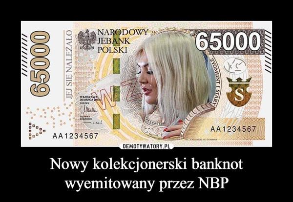 Nowy kolekcjonerski banknot wyemitowany przez NBP –