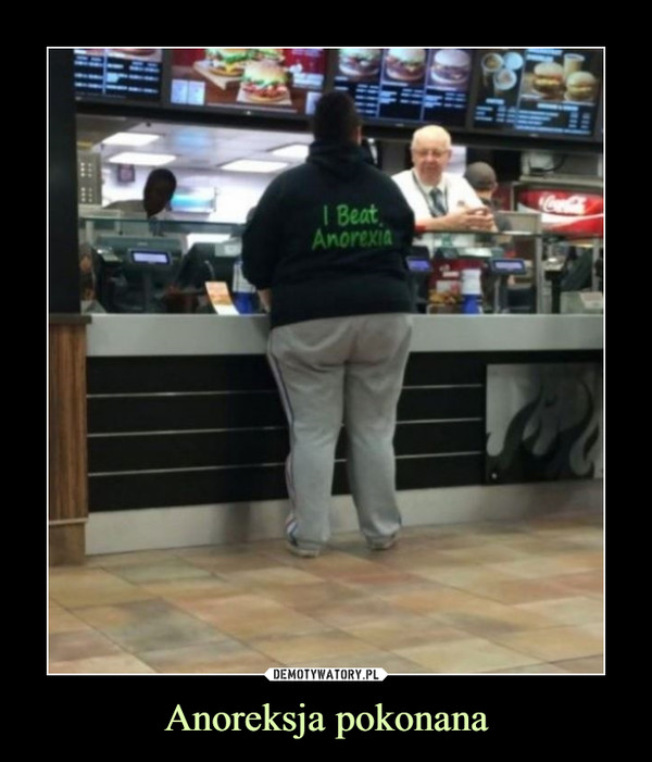 Anoreksja pokonana –