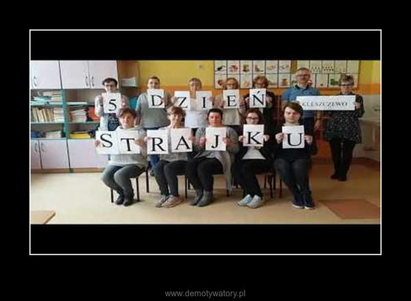 Strajk nauczycieli piosenka –