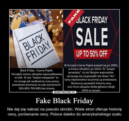 Fake Black Friday
