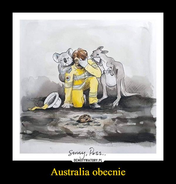 Australia obecnie –