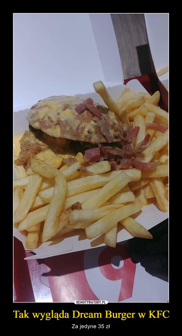 Tak wygląda Dream Burger w KFC – Za jedyne 35 zł
