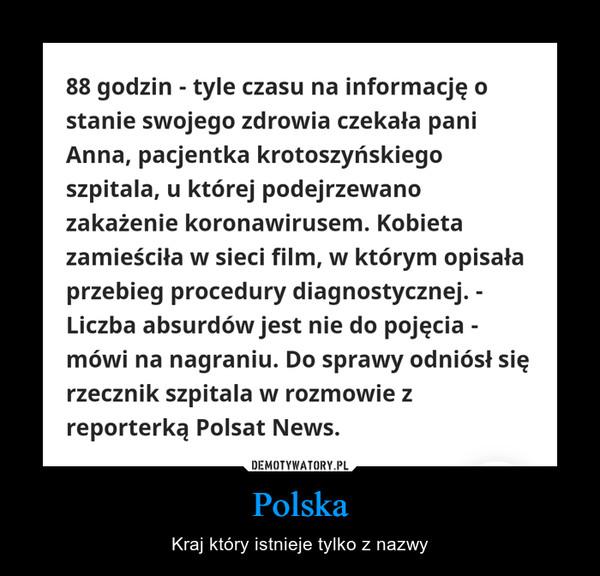 Polska – Kraj który istnieje tylko z nazwy
