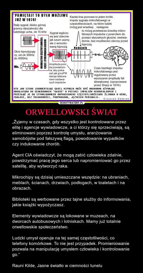 ORWELLOWSKI ŚWIAT