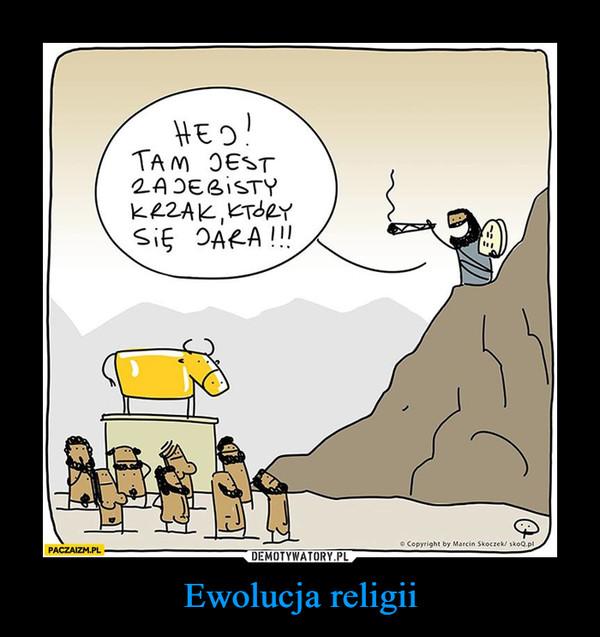 Ewolucja religii –