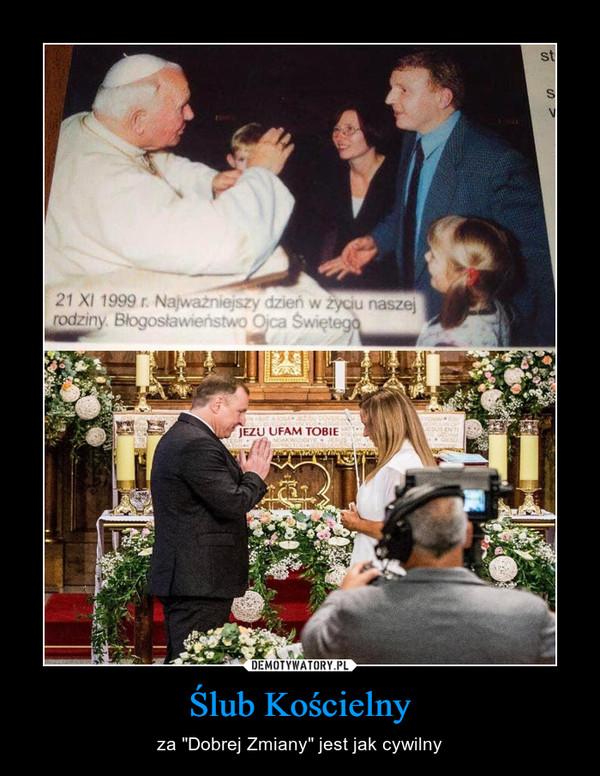 """Ślub Kościelny – za """"Dobrej Zmiany"""" jest jak cywilny"""