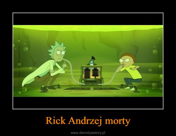 Rick Andrzej morty –