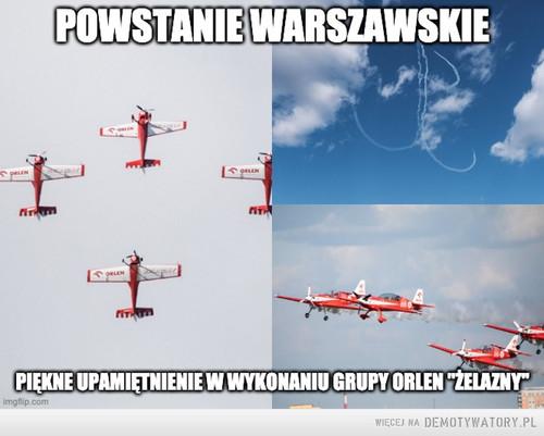 Grupa Żelazny upamiętniła Bohaterów Powstania Warszawskiego