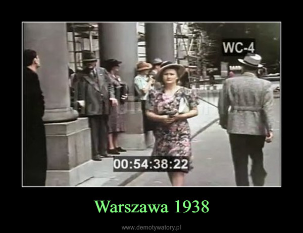 Warszawa 1938 –
