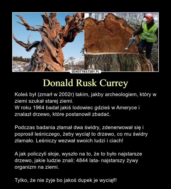 Donald Rusk Currey