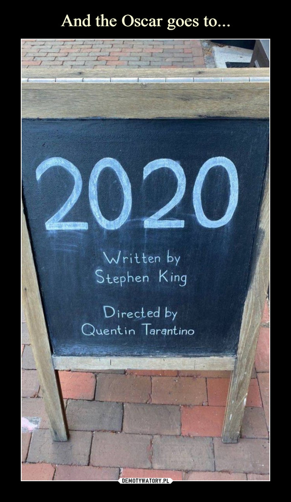–  2020Written bySŁephen KingDirected byQuen€in Tarantino