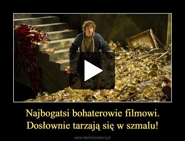 Najbogatsi bohaterowie filmowi. Dosłownie tarzają się w szmalu! –