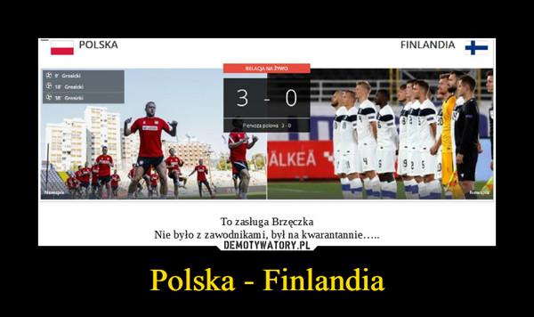 Polska - Finlandia –