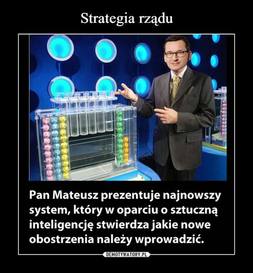 Strategia rządu