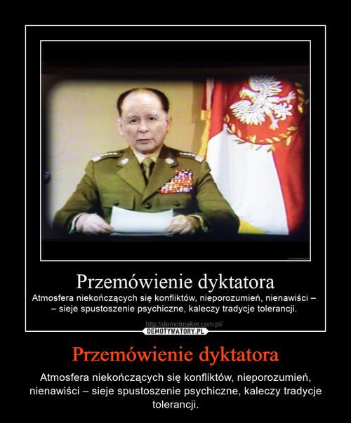 Przemówienie dyktatora