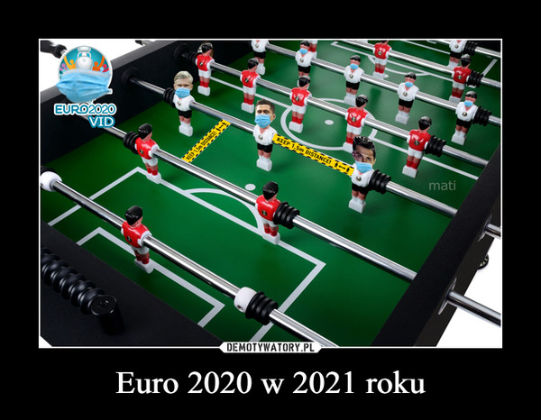 Euro 2020 w 2021 roku –