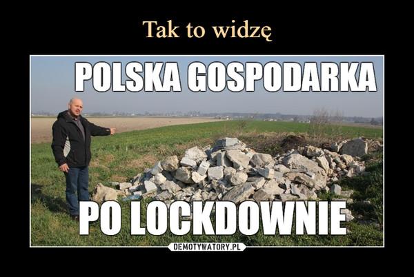 –  POLSKA GOSPODARKAPO LOCKDOWNIE
