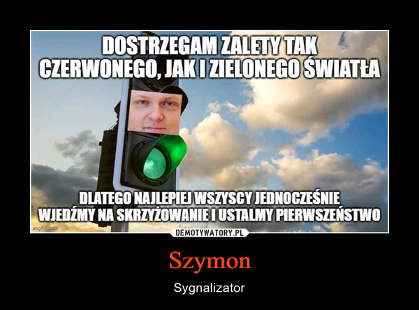 Szymon – Sygnalizator