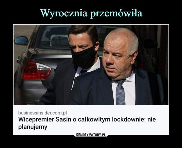 –  businessinsider.com.plWicepremier Sasin o całkowitym lockdownie: nieP|anuJemy