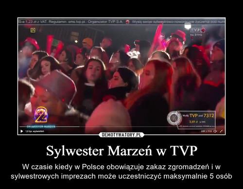Sylwester Marzeń w TVP