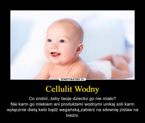 Cellulit Wodny