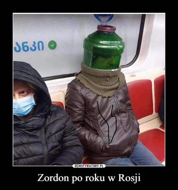 Zordon po roku w Rosji –
