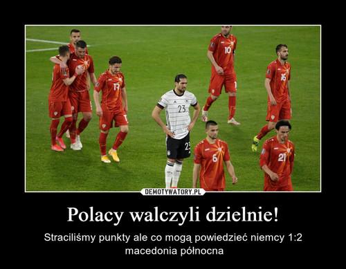 Polacy walczyli dzielnie!