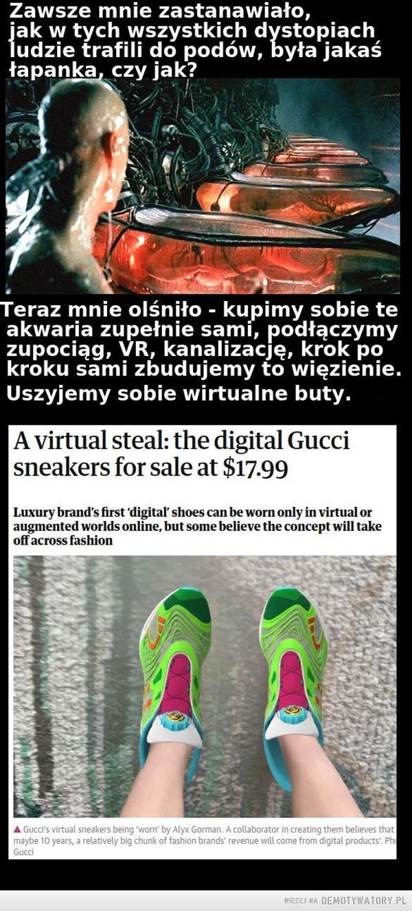 Uszyjmy sobie wirtualne buty –